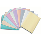 "Polyback Lavender Patient Bibs plain rectangle (13"" x 19"") 3 Ply Paper/1 Ply"