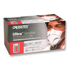 Ultra Sensitive SecureFit Earloop Masks - WHITE 50/Bx. Fluid Resistant Outer