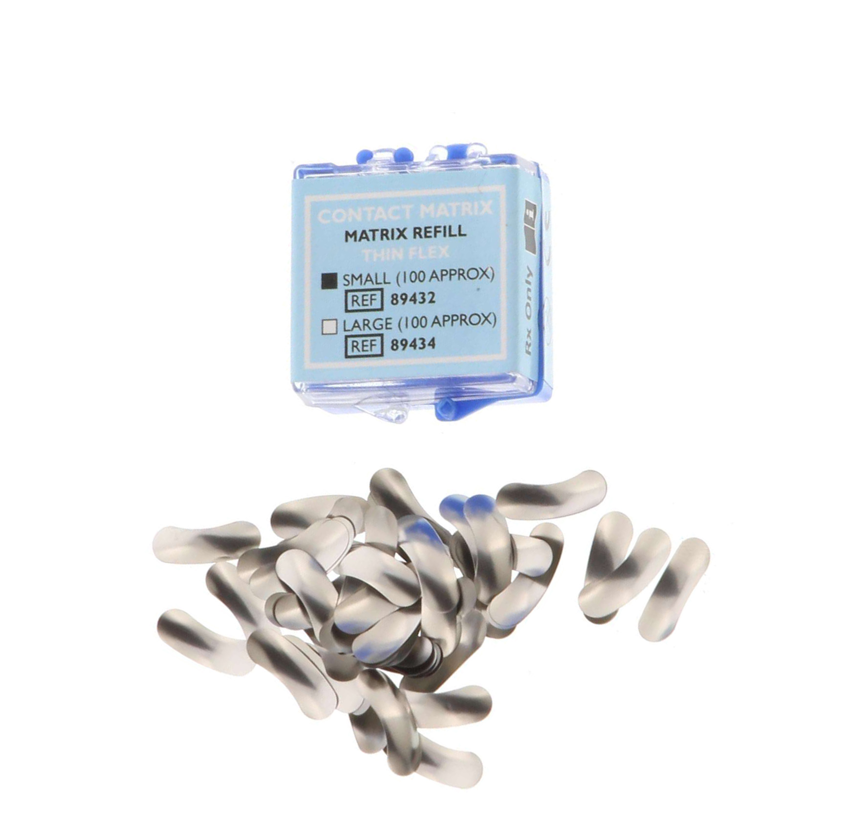 Contact Matrix Refill: Thin Flex Small, Package o