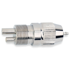 MicroEtcher Handpiece Adapter 4-5 Hole, attached to the end of the tubing. This can be used