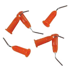 StartFlow 20 gauge Dispensing Tips, Orange, Package of 50 tips