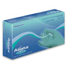 Alasta Aloe Nitrile gloves: X-SMALL 100/Bx. Powder-Free, Textured fingertips