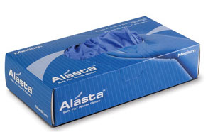 Alasta Nitrile gloves: SMALL Non-Sterile, Powder-