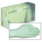AloePro Synthetic Exam gloves: MEDIUM 100/Bx. Powder-Free, Textured, Inner
