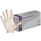 VitalGard Latex glove: Large, Powder-Free, Textured, Chlorinated, Non-Sterile