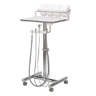 DCI edge Operatory Support Cart w/Assistant's Package U-Frame. With hve/se