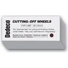 "Dedeco Cut-off Wheels 1-1/4"" x .032"", Package of 100 Wheels"