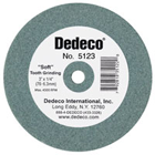 "Dedeco Lathe Wheels Green Soft, 3"" x 3/8"", Single Wheel"