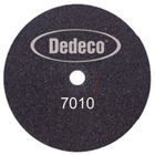 "Dedeco Model Trimmer Wheel 10"" Coarse - Reversible. Adheres Securely, single"