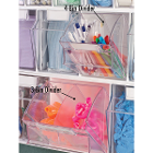 Deflecto 4 Bin Removable Dividers, 4/Pk. Create a custom supply station