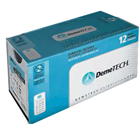 "DemeTECH 3/0, 18"" Silk Black Braided Non-Absorbable Suture with Reverse Cutting"