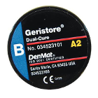 Geristore Paste - B Paste shade A2, 10 Gm. Dual-Cure, Self-Adhering Hybrid