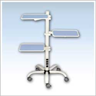 DentAmerica Multi-Tier Adjustable Tray Stand - Durable Powder Coated Metal Post