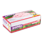 Zooby Latex exam gloves: Cheetah Cherry scented and flavored, LARGE