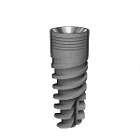 Rapid 5.0 mm Diameter 10 mm Length Dental Implant Compatible with MIS