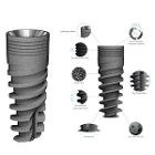 Rapid 5.0 mm Diameter 06 mm Length Dental Implant Compatible with MIS