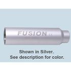 Fusion Replacement battery for curing light, Silver. Single battery assembly