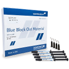 Master-Dent Light-Cure Blue Block-Out Material syringe pack, 4 - 1.2 gram