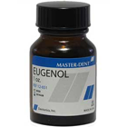 Master-Dent Eugenol USP Grade 1oz (30 ml) Bottle. Used in various restorative