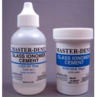 Master-Dent Glass Ionomer Cement with Fluoride, Self-Cure, White, Kit: 100 gram