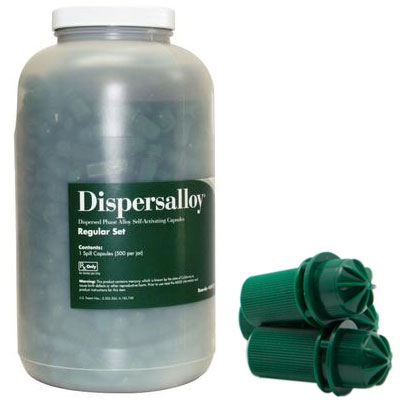 Dispersalloy Regular Set Single Spill (400 mg) 50