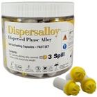 Dispersalloy Fast Set Triple Spill (800 mg), 50 Capsules/Pack. Silver/Copper