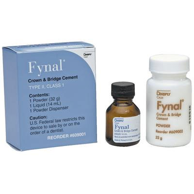 Fynal Complete Package - Permanent ZOE self-cure