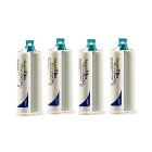 Aquasil Ultra Heavy (Light Green) Fast set, 4 - 50 mL Cartridges and 12 Mixing