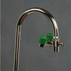 Opti-Klens I Eyewash Fountain, mounts behind your existing faucet spout. It