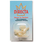 Directa Temporary Crowns Molar Kit, Polycarbonate, Complete Kit of all sizes