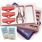 Directa Temporary Crowns Molar Kit with Crown Tools, Polycarbonate, Complete Kit of all sizes