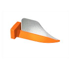 FenderWedge Small 1.4mm, Orange 100/Value Pack. Designed to protect adjacent