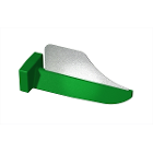 FenderWedge Medium 1.9mm, Green 36/Bx. Designed to protect adjacent teeth