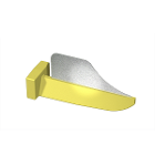 FenderWedge Large 2.3mm, Yellow 100/Value Pack. Designed to protect adjacent