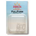 Fullforms Directa FullForm Strip Off Crowns F-4, Transparent Laminated Plastic, Package of 5 crown