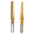 Luxator LX Mechanical Periotome Tip, 2mm SHORT- Titanium Coated, 1/Pk