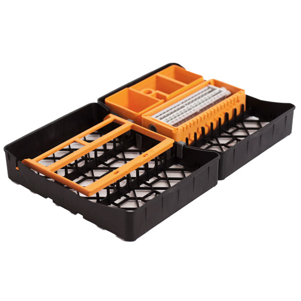PractiPal Full Tray Complete Set - Orange, Holds