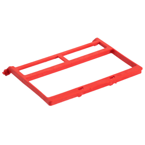 PractiPal Instrument Clamp - Red, Single Replacem