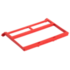 PractiPal Instrument Clamp - Red, Single Replacement Clamp