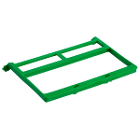 PractiPal Instrument Clamp - Green, Single Replacement Clamp