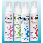 Kolorz 60 Second Cherry Cheesecake Fluoride Foam, APF 1.23%, Contains Xylitol