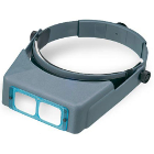 OptiVISOR Headband Magnifier - 1.75X acrylic lenses, Focal Length 14