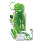 Dr. Fresh Orthodontic Travel Bottle Kit 12/Pk. Kit includes a V Trim Toothbrush, Travel