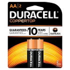 DURACELL Battery, Alkaline, Size AAA, packaged as 4 packs, 54 packs per case