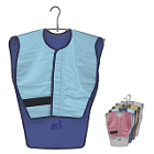 DUX Dental Adult panoramic blue vinyl X-Ray poncho Apron
