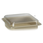 "DUX Dental Tub Lid, Clear Plastic, for Size S Tubs. 13"" W X 11"" D X 1.5"" H"