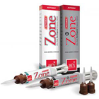 Zone Non-Eugenol Temporary Cement - Regular Shade 4 Gm. Automix Syringe & 8 Mixing Tips