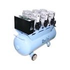 DynAir Portable Air Compressor, Silent and Oil free. Power: 2.25KW 3 HP. Max
