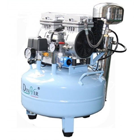 DynAir Air Compressor with Air Dryer, Silent and Oil Free, 550W (3/4 HP). Tank