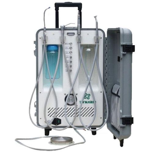 Dynamic Portable Dental Unit With 3 Way Syringe Saliva